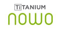 לוגו סדרת סירים ומחבתות Titanium Nowo של Woll