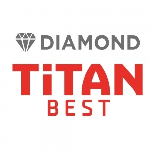 לוגו סדרת Diamond Titan Best