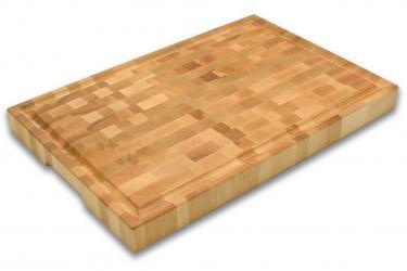 משטח חיתוך מעץ בוצ'ר בלוק