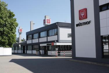 ווסטהוף דרייצג חזית הכניסה לאחד המפעלים בסולינגן גרמניה