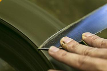 השחזת סכין שף יפני