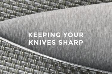 תחזוקת חדות של סכיני שף