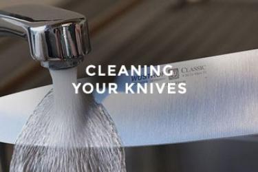 ניקוי סכיני מטבח
