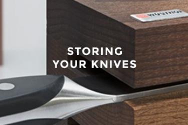 אחסון סכיני מטבח